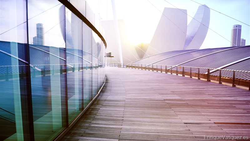 No People Contemporary Building Exterior Skyscraper Design Concept
