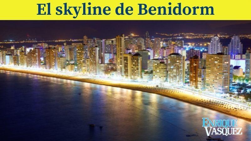 El Skyline de Benidorm es uno de los cinco sitios impresionantes de España que debes conocer