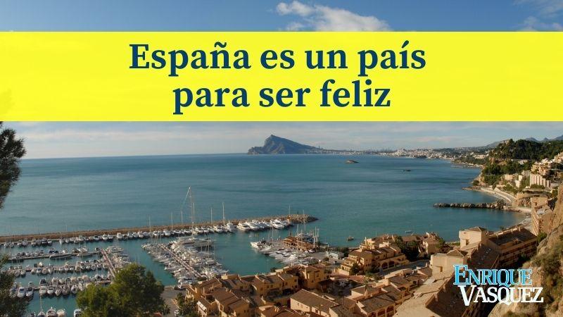 España es un país para ser feliz - Playa de España